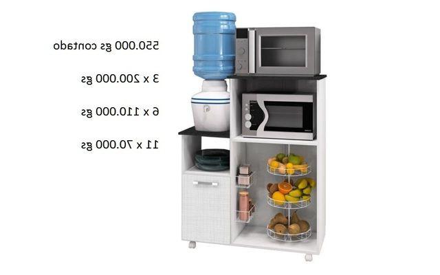 Mueble Para Horno Y Microondas U3dh Mueble Frutera Citrus Para Horno Microondas Y Bebedero Nuevos
