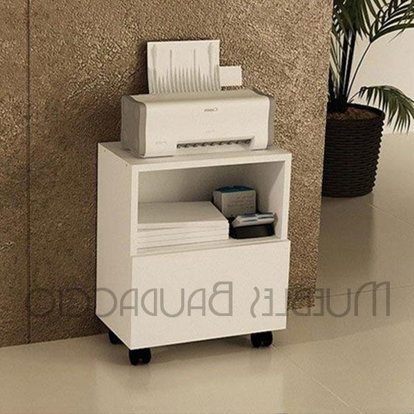 Mueble Para Impresora 9ddf Mueble Para Impresora Con Ruedas En Melamina S 140 00 En Mercado