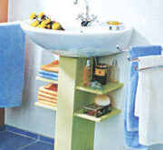 Mueble Para Lavabo Con Pedestal