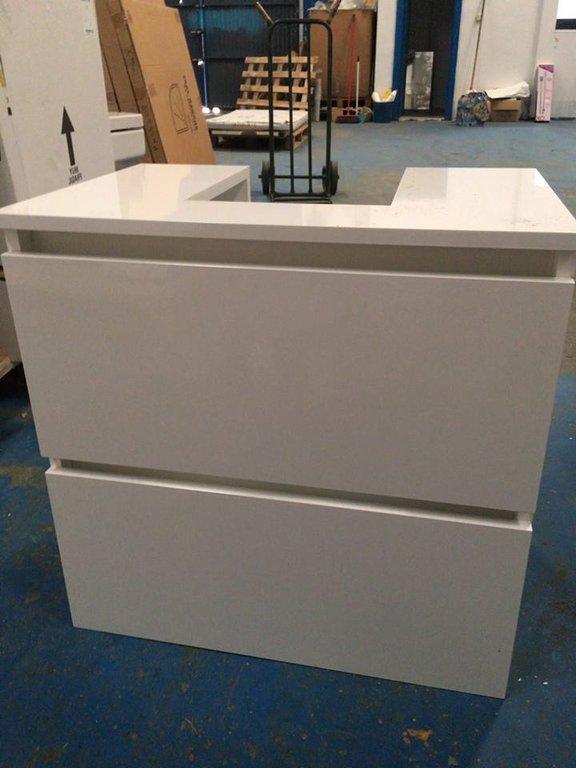 Mueble Para Lavabo De Pie 0gdr Mueble Cube 60 Cm Mueble Baà O Para Lavabo Pedestal Sin Obra