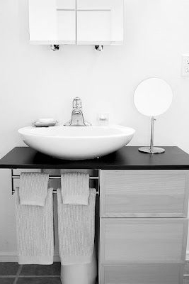 Mueble Para Lavabo De Pie Bqdd How to Hack A Bowl Sink for the Home Pinterest Bathroom