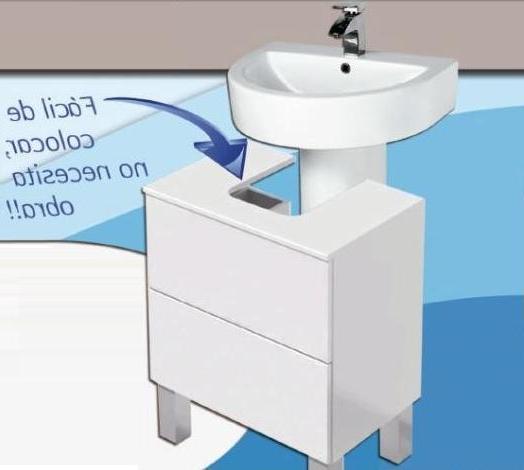 Mueble Para Lavabo De Pie Y7du Mueble Cube 60 Cm Mueble Baà O Para Lavabo Pedestal Sin Obra