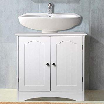 Mueble Para Lavabo De Pie Zwdg Popamazing Armario De Baà O En Color Blanco Mueble Para Lavabo