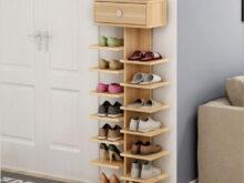 Mueble Para Zapatos Wddj Doble Bastidores De Zapatos De Scarpiera organizador De Muebles Para