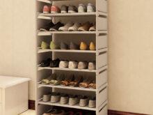 Mueble Para Zapatos Zwd9 Nuevo Patrà N De Moda Gabinete Zapatos Percheros Almacenamiento Gran
