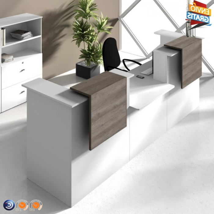 Mueble Recepcion T8dj Mostrador De Recepcià N Barato Serie Basic La Oficina Online
