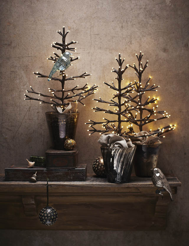 Mueble Recibidor Pequeño 8ydm Rustik Chateaux 7 Arboles De Navidad Mini Para Tu Recibidor