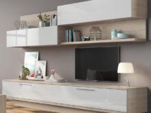 Mueble Salon Blanco Y Madera 3ldq Librerà A Chicago Roble Blanco Brillo Hogar El Corte Inglà S