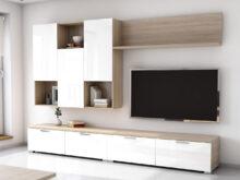 Mueble Salon Blanco Y Madera Jxdu Mueble De Salà N Edor Estilo Moderno Roble Con Blanco 4280