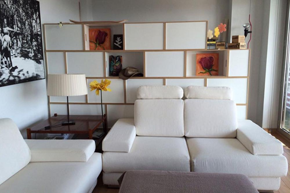 Mueble Separador De Ambientes 87dx Brickbox Mueble Separador De Ambientes Brickbox