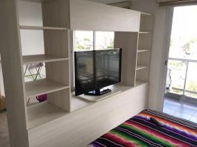 Mueble Separador De Ambientes Dddy Mueble Divisor Ambientes Modular Rack Tv Led Lcd
