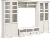 Mueble Televisor Thdr Liatorp Mueble Tv Con Almacenaje Blanco 332 X 214 Cm Ikea