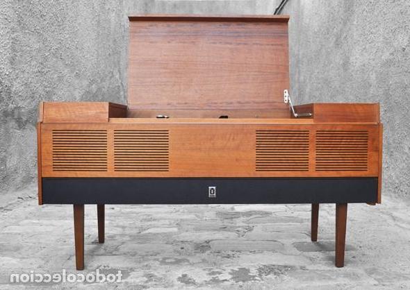 Mueble tocadiscos E6d5 Mueble tocadiscos AÃ Os 60 Prar Muebles Vintage En todocoleccion