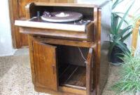 Mueble tocadiscos Q5df Mil Anuncios Mueble tocadiscos Antiguo