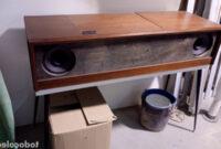 Mueble tocadiscos S5d8 Mueble tocadiscos Kolster Prar Radios Transistores Y Pick Ups