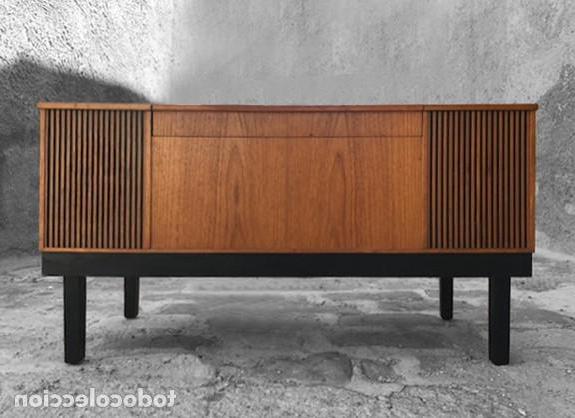 Mueble tocadiscos Thdr Mueble tocadiscos AÃ Os 60 Prar Muebles Vintage En todocoleccion