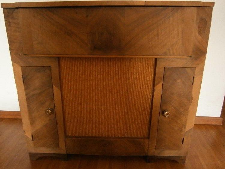 Mueble tocadiscos Tldn Mueble Binado Winco Antiguo De Madera tocadiscos Envios En