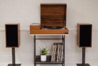 Mueble tocadiscos Whdr Wrensilva Lanza Loft Un tocadiscos Vintage Que Remite A Los 70