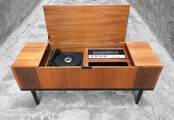 Mueble tocadiscos X8d1 Mueble tocadiscos AÃ Os 60 Prar Muebles Vintage En todocoleccion