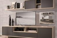 Mueble Tv Barato Q0d4 Muebles De Salà N Y Televisià N Tv Carrefour