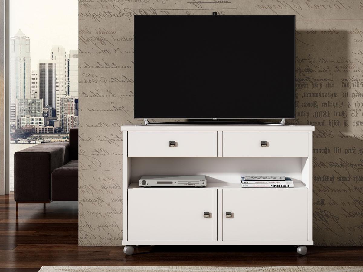 Mueble Tv Con Ruedas 0gdr Mesa Tv Con Ruedas Y Puertas