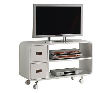 Mueble Tv Con Ruedas U3dh Mueble De Tv Con Ruedas En Madera Plano Blanco Proyecto Muebles