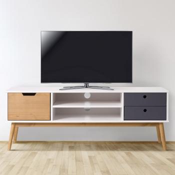 Mueble Tv Estrecho Bqdd Muebles De Salà N Y Televisià N Tv Carrefour