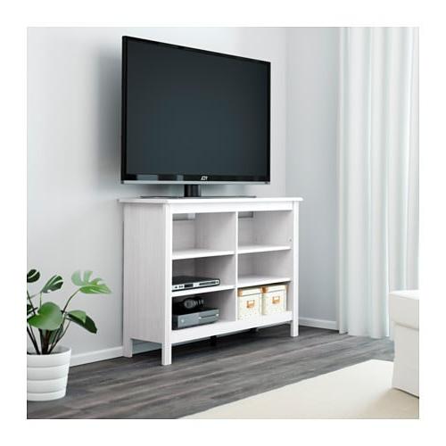 Mueble Tv Estrecho Drdp Brusali Mueble Tv Blanco 120 X 36 X 85 Cm Ikea