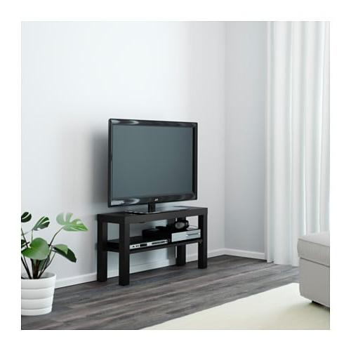 Mueble Tv Estrecho Ftd8 Lack Mueble Tv Negro 90 X 26 X 45 Cm Ikea