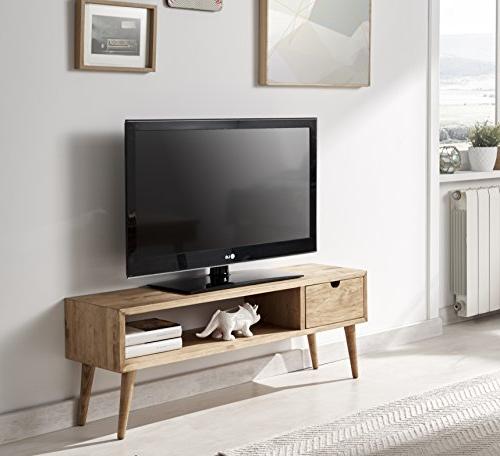 Mueble Tv Estrecho Rldj Mejor Mesa Tv Madera Casaylienzo