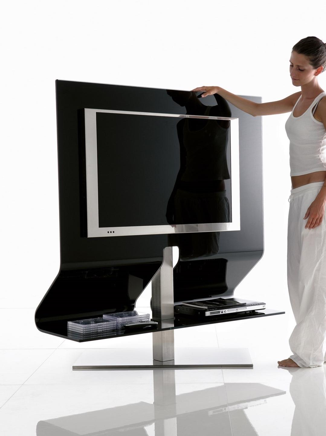 Mueble Tv Giratorio 360 0gdr Muebles Tv Cristal Muebles De Aluminio Y Cristal with Muebles Tv