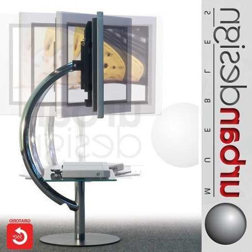 Mueble Tv Giratorio 360 Dddy Mesa Rack Mueble Tv Lcd Led Rohan Giratorio 360Â Cromado