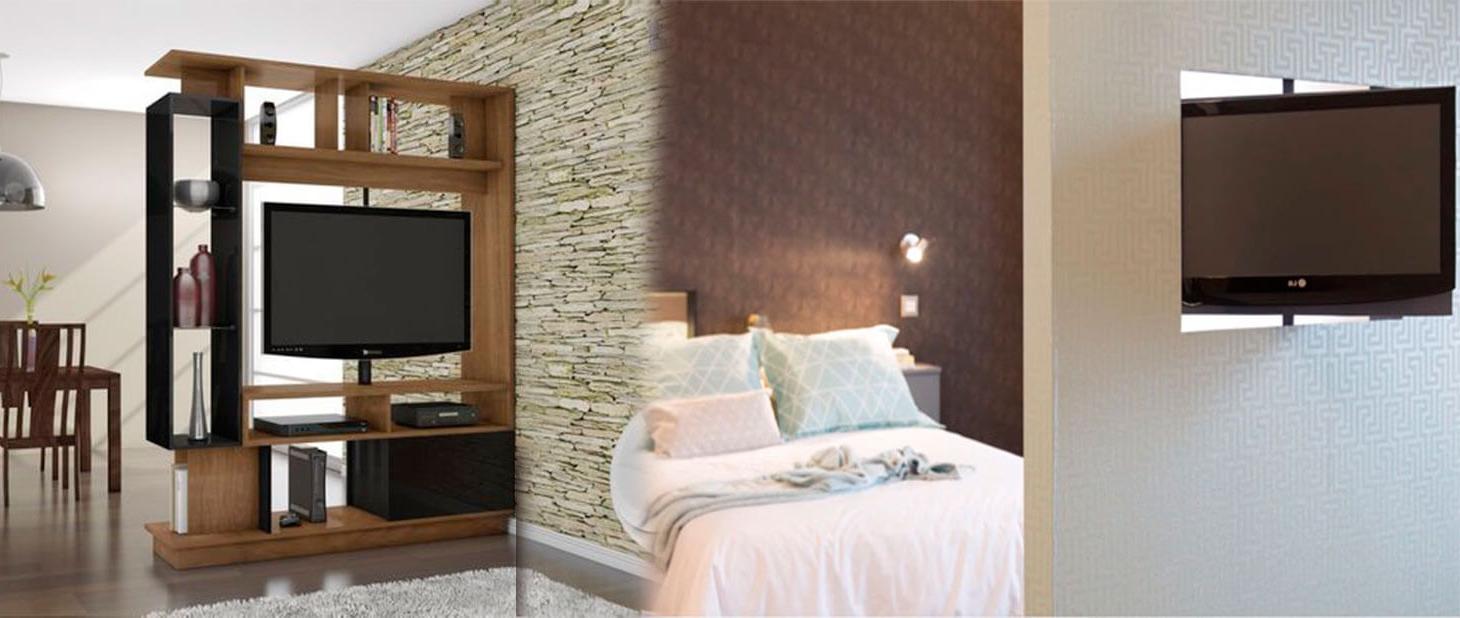 Mueble Tv Giratorio 360 Fmdf soporte De Pivote Con Rotacion De 360 Grados Del Televisores Bases