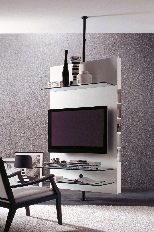 Mueble Tv Giratorio 360 Tqd3 Mueble De Televisià N Moderno Giratorio De Madera Mediacenter