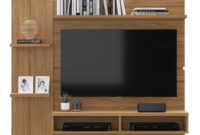 Mueble Tv Pared Dwdk Mueble Tv 47 Rack Living Sala Pared Ps16 Fernapet