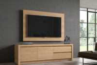 Mueble Tv Pared Dwdk Panel Tv Giratorio Directo A Pared Ideal Para Pantallas Planas