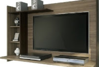 Mueble Tv Pared Ipdd Rack Mueble Para Tv Pared Nogal Racks Livings Divino