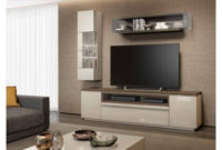 Mueble Tv Pared Y7du Mueble Tv Moderno Modular Con Vitrina Y Estanterà A De Pared Holf H220