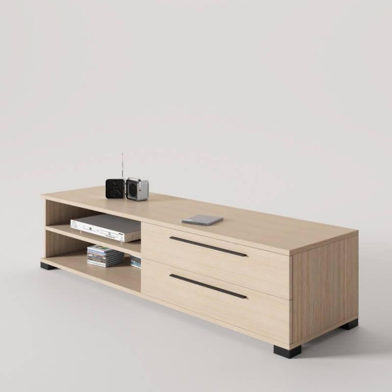 Mueble Tv Pequeño Nkde Diseà O Mueble Tv Con 2 Cajones Ideal Para Televisores Con Base O