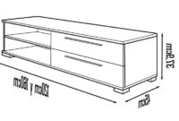 Mueble Tv Pequeño Q0d4 Diseà O Mueble Tv Con 2 Cajones Ideal Para Televisores Con Base O