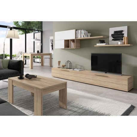 Mueble Tv Roble 0gdr Mueble Tv Ambar Roble