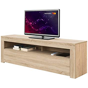 Mueble Tv Roble Dddy ifort Ap84s Mueble Tv Salà N Moderno Mesa Televisià N Colores