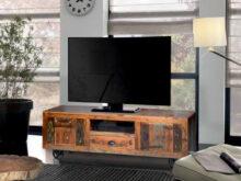 Mueble Tv Vintage 3ldq Prar Mueble De Tv Vintage En Madera Reciclada Con Ruedas