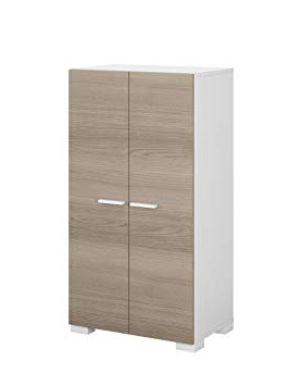 Mueble Zapatero Amazon Irdz Habitdesign 0b7816o Mueble Armario Zapatero Color Blanco Y Fresno