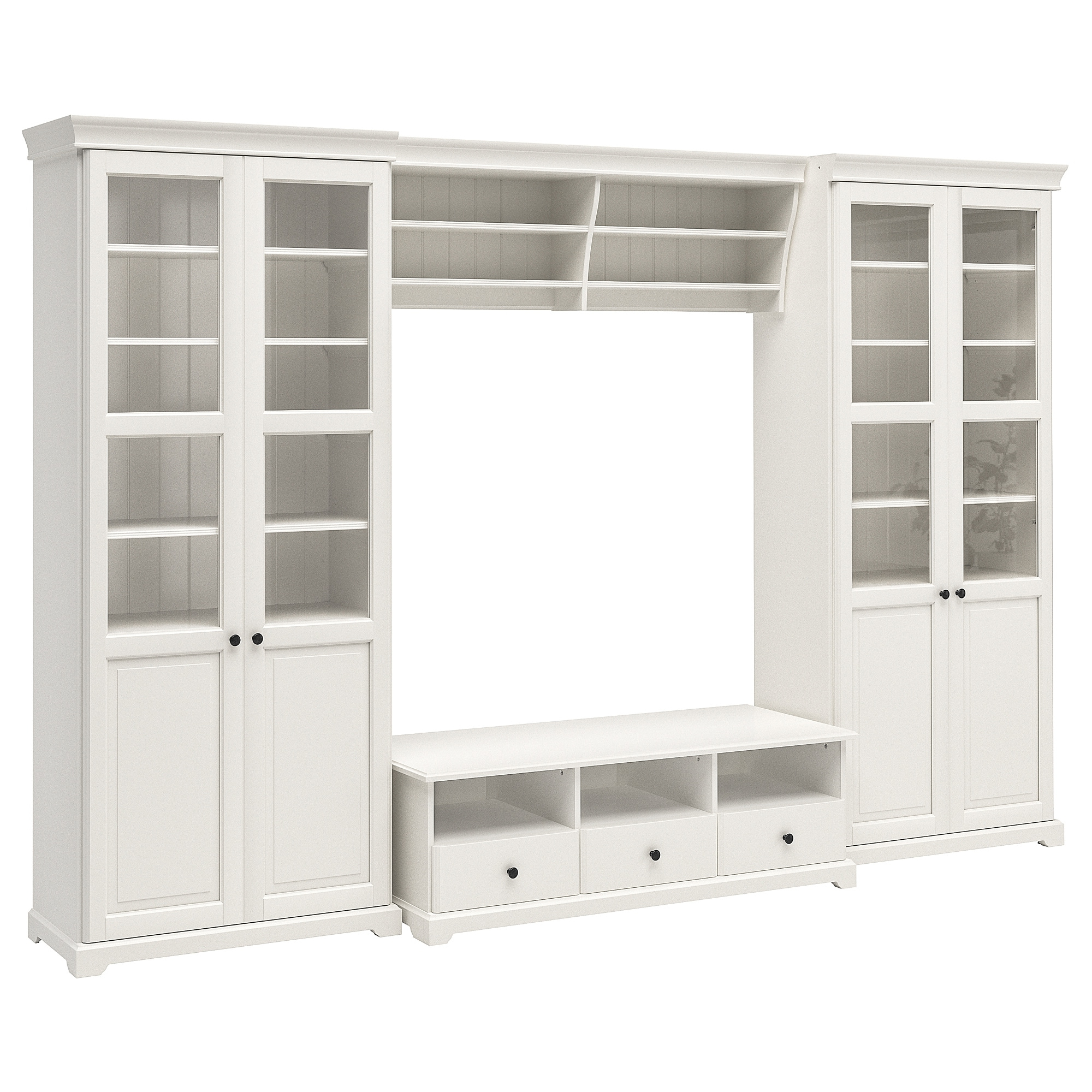 Muebles Almacenaje J7do Liatorp Mueble Tv Con Almacenaje Blanco 332 X 214 Cm Ikea