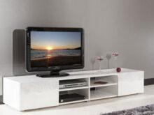Muebles Bajos De Salon Kvdd Mueble De Tv De 260 Cm En Color Blanco Brillo