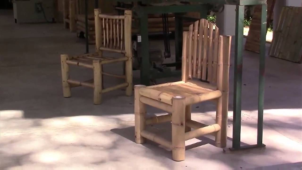 Muebles Bambu D0dg El Bambú Una Opcià N Para La Elaboracià N De Muebles Youtube