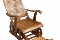 Muebles Bambu Nkde Silla Mecedora De Bambú Moderna Para Adultos Balancà N Balancà N
