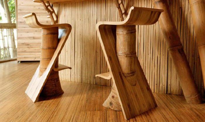 Muebles Bambu Zwdg Mobiliario De Bambú Para El Interior Decorar