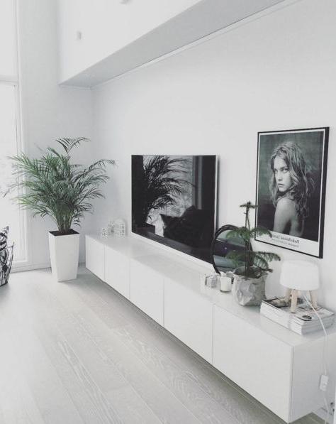 Muebles Blanco Irdz MÃ S De 40 Fotos De Salones Blancos Espaciohogar